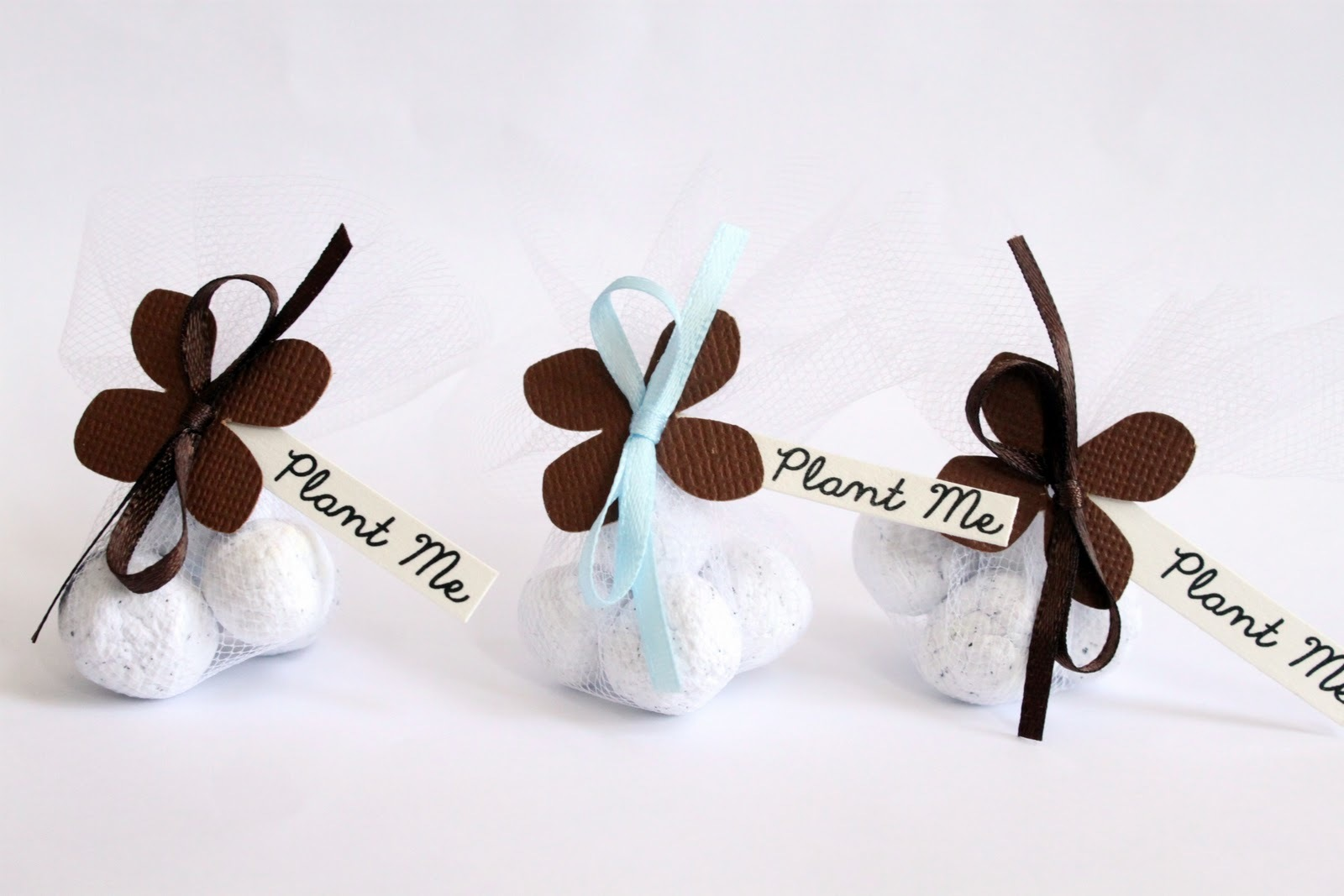 Seed Bomb Wedding Favours